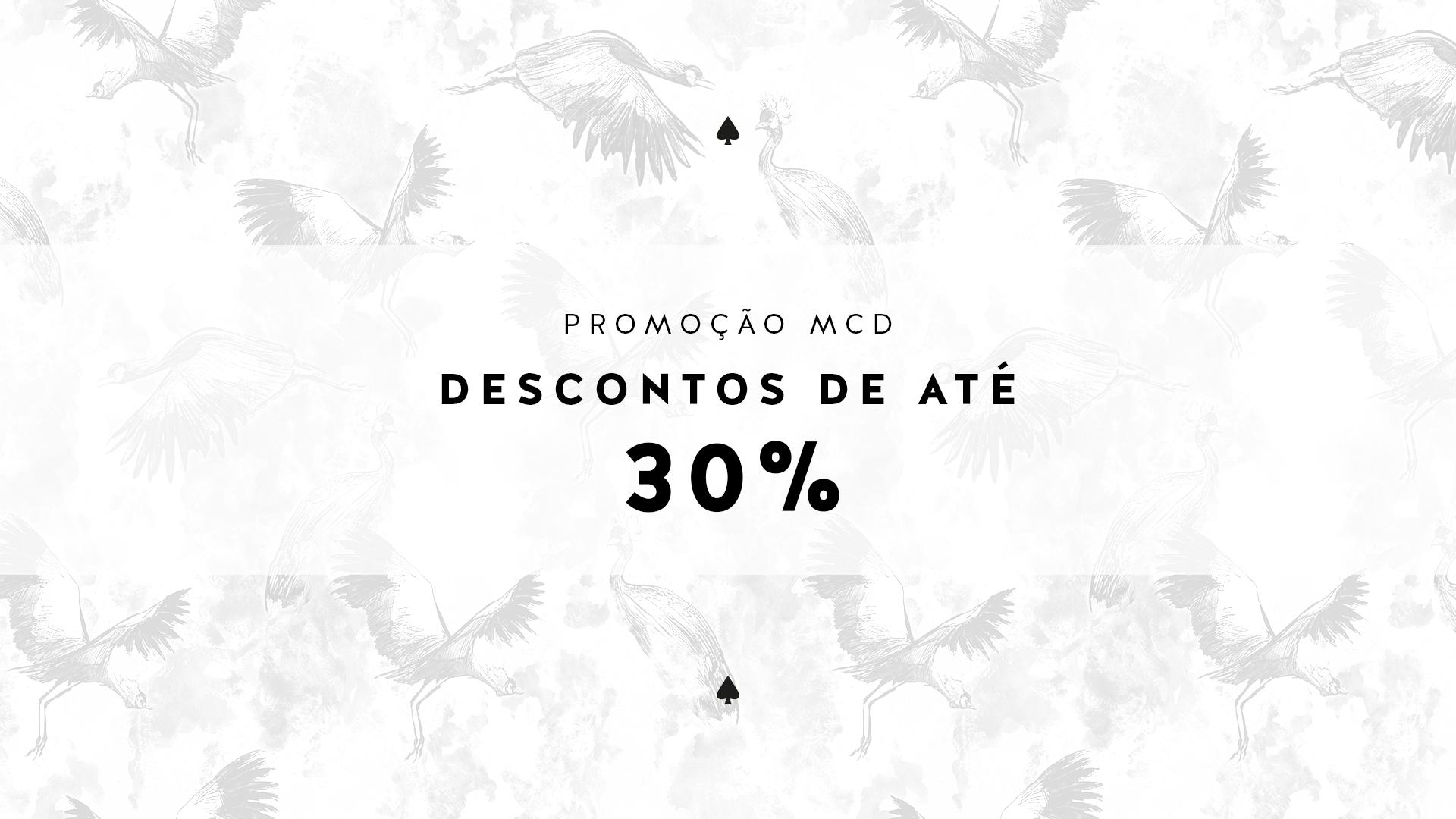 Promoção - 30%