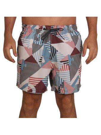 Shorts-Sport-Mcd-Geometric-Stripes